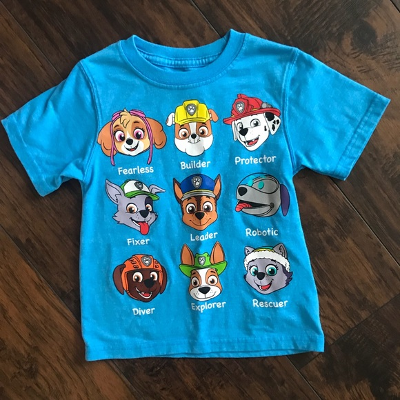 dfdeb46c35 BOYS Paw Patrol Tee like new. M 5ad79cd19cc7ef8afb86e0e4